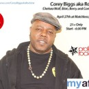Corey Biggs Apr 27th at Matchless